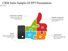 Crm Sales Sample Of Ppt Presentation
