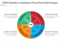 Crm Salesforce Automation Powerpoint Slide Designs
