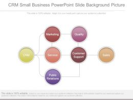 Crm Small Business Powerpoint Slide Background Picture