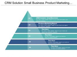 Crm Solution Small Business Product Marketing Report Marketing Training Cpb