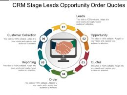 Crm Stage Leads Opportunity Order Quotes