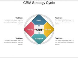 Crm Strategy Cycle Presentation Outline