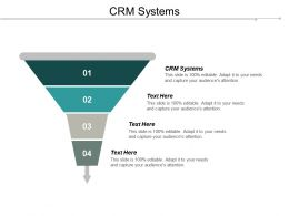 CRM Systems Ppt Powerpoint Presentation Icon Professional Cpb
