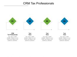 CRM Tax Professionals Ppt Powerpoint Presentation Slide Cpb