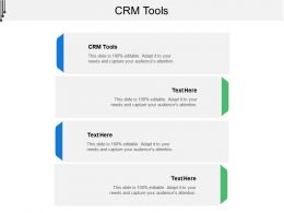 Crm Tools Ppt Powerpoint Presentation Slides Model Cpb