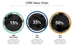 Crm Value Chain Ppt Powerpoint Presentation File Format Ideas Cpb