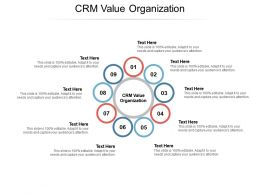 CRM Value Organization Ppt Powerpoint Presentation Show Templates Cpb