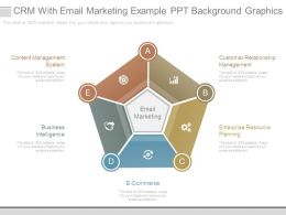 Crm With Email Marketing Example Ppt Background Graphics