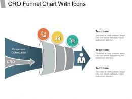 Cro Funnel Chart With Icons