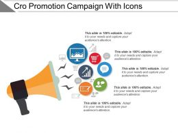 Cro Promotion Campaign With Icons