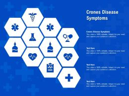 Crones Disease Symptoms Ppt Powerpoint Presentation Gallery File Formats