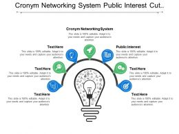 Crony Networking System Public Interest Cut Government Benefits