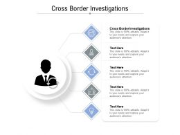 Cross Border Investigations Ppt Powerpoint Presentation Layouts Graphics Template Cpb