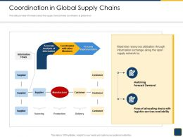 Cross Border Subsidiaries Management Coordination In Global Supply Chains The Ppt Files