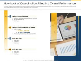 Cross Border Subsidiaries Management How Lack Of Coordination Affecting Overall Performance Ppt Tips