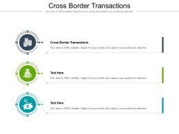 Cross Border Transactions Ppt Powerpoint Presentation File Slideshow Cpb