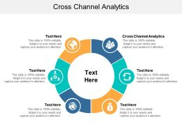 Cross Channel Analytics Ppt Powerpoint Presentation Show Backgrounds Cpb