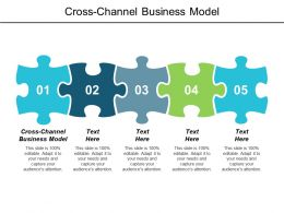 Cross Channel Business Model Ppt Powerpoint Presentation Infographics Introduction Cpb