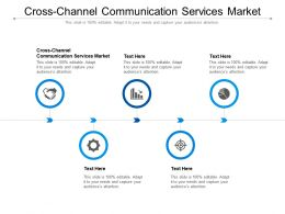Cross Channel Communication Services Market Ppt Powerpoint Presentation Portfolio Elements Cpb