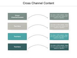 Cross Channel Content Ppt Powerpoint Presentation Ideas Picture Cpb
