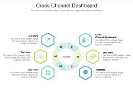 Cross Channel Dashboard Ppt Powerpoint Presentation Professional Background Image Cpb