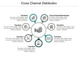 Cross Channel Distribution Ppt Powerpoint Presentation Ideas Introduction Cpb