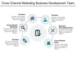 Cross Channel Marketing Business Development Team Cross Channel Sales Cpb