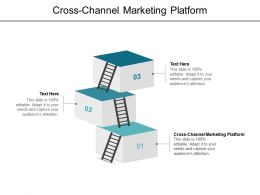 Cross Channel Marketing Platform Ppt Powerpoint Presentation File Example Cpb