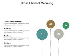 Cross Channel Marketing Ppt Powerpoint Presentation Outline Graphics Example Cpb