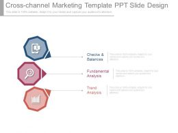Cross Channel Marketing Template Ppt Slide Design