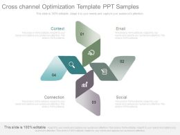 Cross Channel Optimization Template Ppt Samples