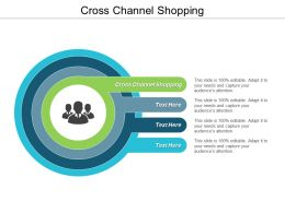 Cross Channel Shopping Ppt Powerpoint Presentation Infographic Template Backgrounds Cpb