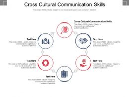 Cross Cultural Communication Skills Ppt Powerpoint Presentation Gallery Maker Cpb