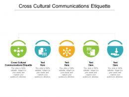 Cross Cultural Communications Etiquette Ppt Powerpoint Presentation File Introduction Cpb
