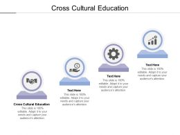 Cross Cultural Education Ppt Powerpoint Presentation Ideas Templates Cpb