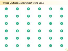 Cross Cultural Management Icons Slide Ppt Powerpoint Presentation Templates