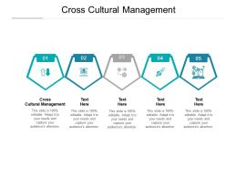 Cross Cultural Management Ppt Powerpoint Presentation Layouts Graphics Cpb