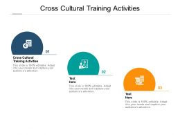 Cross Cultural Training Activities Ppt Powerpoint Presentation Outline Information Cpb