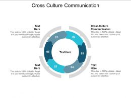 Cross Culture Communication Ppt Powerpoint Presentation Layouts Structure Cpb