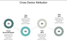 Cross Device Attribution Ppt Powerpoint Presentation Infographic Template Deck Cpb