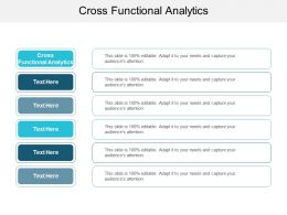 Cross Functional Analytics Ppt Powerpoint Presentation Pictures Guide Cpb
