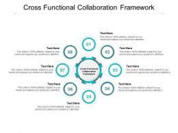 Cross Functional Collaboration Framework Ppt Powerpoint Presentation Slides Cpb