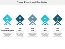 Cross Functional Facilitation Ppt Powerpoint Presentation Layouts Samples Cpb