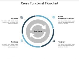 Cross Functional Flowchart Ppt Powerpoint Presentation Inspiration Background Designs Cpb