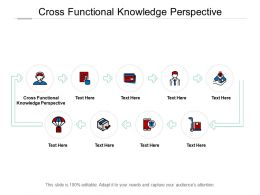 Cross Functional Knowledge Perspective Ppt Powerpoint Presentation Icon Cpb