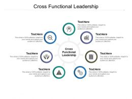 Cross Functional Leadership Ppt Powerpoint Presentation Summary Objects Cpb