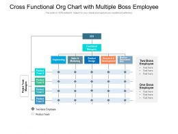 Cross Functional Org Chart With Multiple Boss Employee