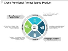 Cross Functional Project Teams Product Management Skills Assessment Cpb