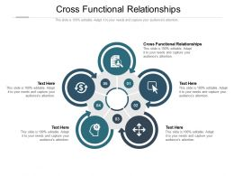 Cross Functional Relationships Ppt Powerpoint Presentation Styles Inspiration Cpb