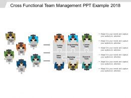 Cross Functional Team Management Ppt Example 2018